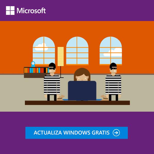 "Banner ""Cybercrimenes"" Microsoft"